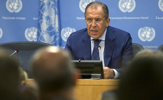 Ông Lavrov: Nga không kích IS, không nhằm vào lực lượng nổi dậy