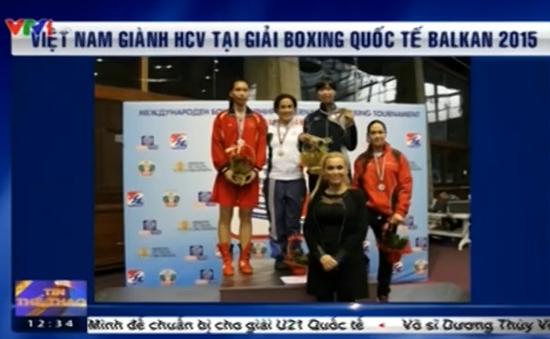 Việt Nam gây bất ngờ khi giành HCV giải Boxing quốc tế tại Balkan