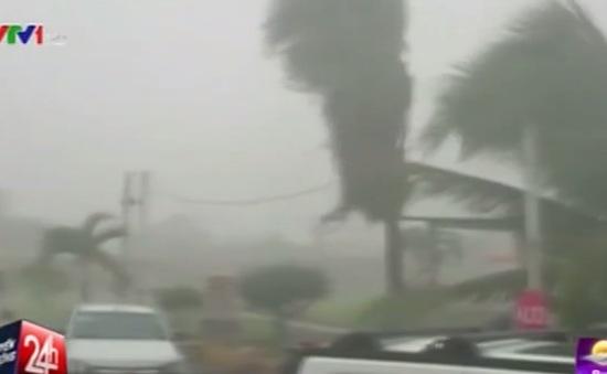 Siêu bão Patricia mạnh cấp độ 5 đổ bộ vào Mexico