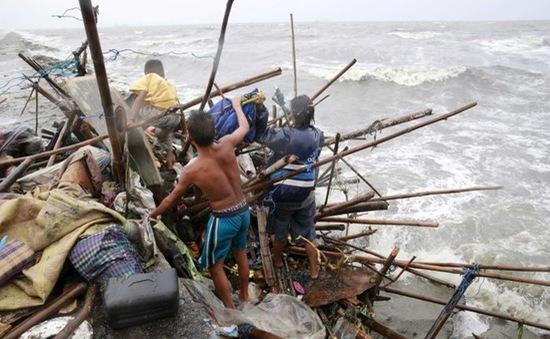 Bão Koppu khiến 160.000 người Philippines phải sơ tán