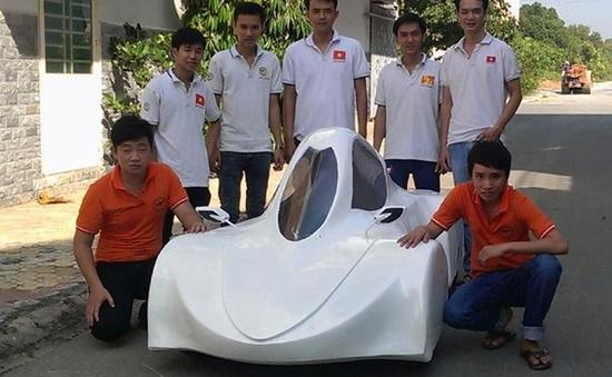 Sinh viên Đồng Nai chế tạo xe chạy 200 km chỉ với 1 lít cồn