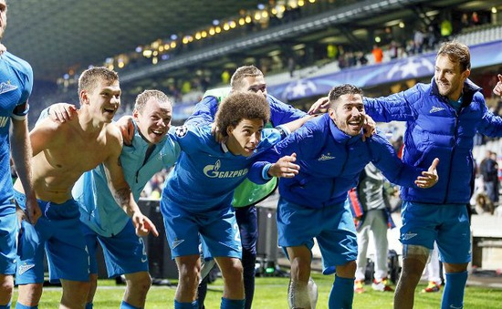 Champions League: Zenit St. Petersburg thách thức cả châu Âu