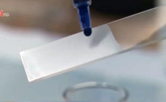 Độc đáo sơn có khả năng tự làm sạch