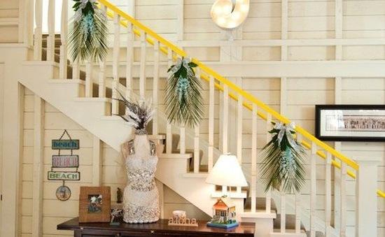 Biến cầu thang thành điểm nhấn đặc biệt cho ngôi nhà