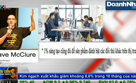 Startup Việt Nam đang theo công thức 99% bắt chước và 1% sáng tạo?