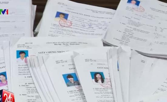 Bán khống hàng nghìn giấy khám sức khỏe cho học viên lái xe