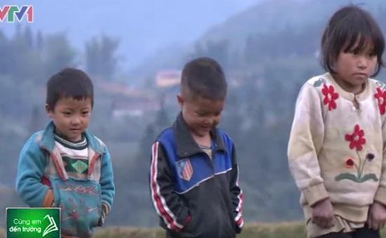 Áo ấm đến trường cho trẻ em Suối Thầu, Lào Cai
