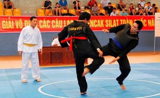 Giải vô địch các CLB Pencak Silat toàn quốc 2015 quy tụ 340 VĐV