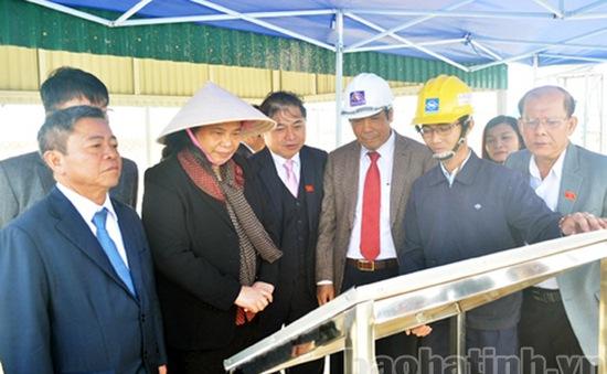 Phó Chủ tịch Quốc hội Tòng Thị Phóng thăm Khu kinh tế Vũng Áng