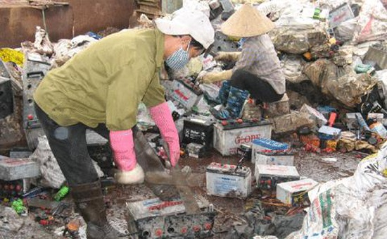 Hưng Yên: Bế tắc trong xử lý các cơ sở tái chế chì