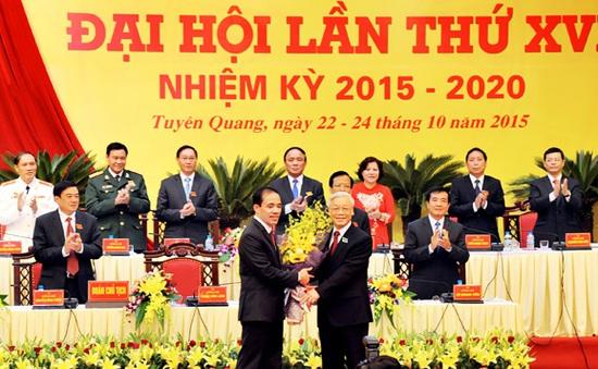 Tổng Bí thư dự khai mạc Đại hội Đảng bộ tỉnh Tuyên Quang