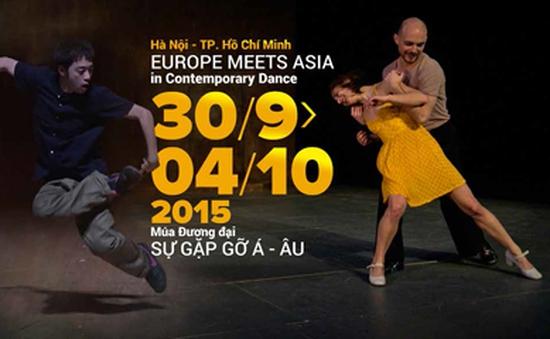 Liên hoan Múa đương đại - Sự gặp gỡ Á Âu 2015: Trải nghiệm nghệ thuật múa đa phong cách
