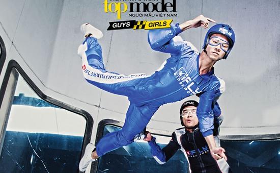 Xem top 7 Vietnam's Next Top Model 2015 bay lơ lửng trên không