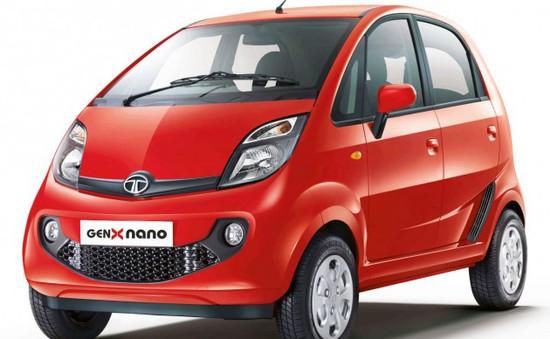 """Xe Nano ra mắt bản """"cao cấp"""": có số tự động, trợ lực lái"""