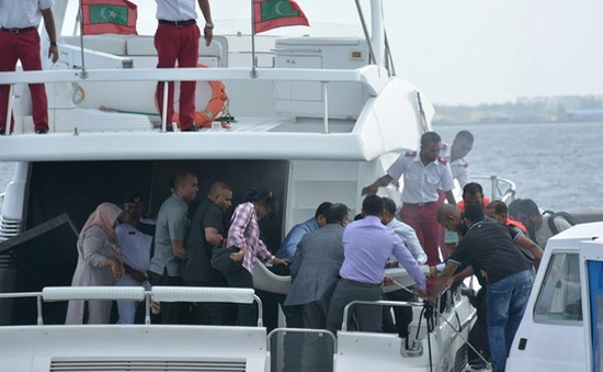 Tổng thống Maldives thoát chết sau vụ nổ thuyền cao tốc