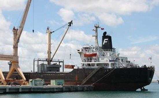 Cảng Hải Phòng lần đầu đón tàu 35.000 tấn