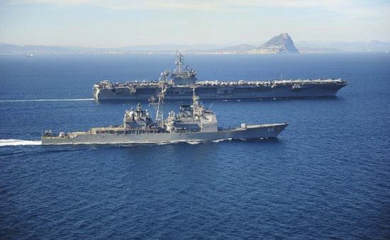 Mỹ gửi thêm tàu chiến tới gần Yemen