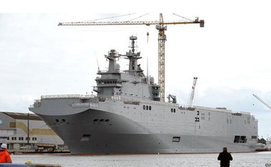 Pháp phủ nhận đạt được thỏa thuận về hợp đồng tàu chiến Mistral