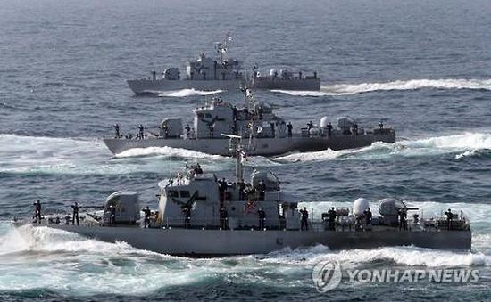 Hàn Quốc bắn 5 phát đạn cảnh cáo tàu Triều Tiên