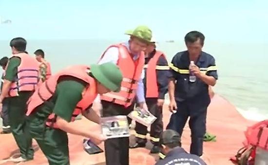 Vụ chìm tàu Hoàng Phúc 18: Tìm thấy thi thể hai nạn nhân