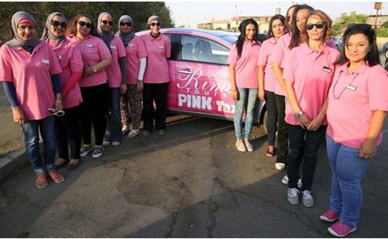 Pink Taxi - Dịch vụ taxi dành cho nữ giới tại Ai Cập