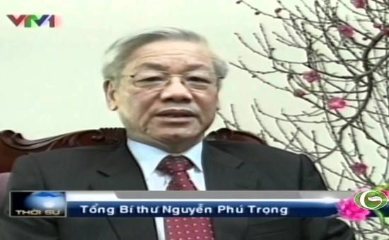 Tổng Bí thư trả lời phỏng vấn Đài THVN trước thềm năm mới Ất Mùi