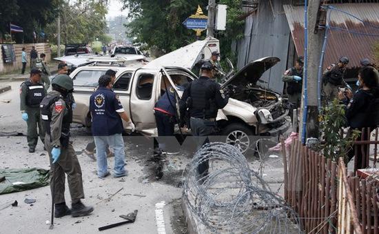 Nổ bom tại miền Nam Thái Lan, 8 người thương vong