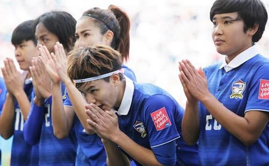 Đội tuyển nữ Thái Lan ngậm ngùi nói lời chia tay World Cup