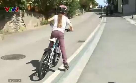 Thang máy độc đáo dành cho xe đạp