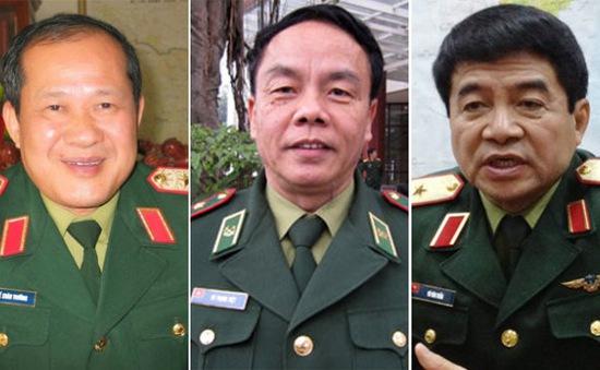 Thăng quân hàm Thượng tướng cho 3 sĩ quan của quân đội