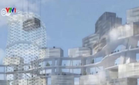 Độc đáo ý tưởng thành phố thẳng đứng trong tương lai