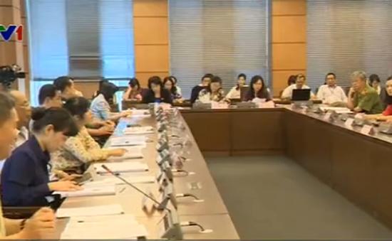 Quốc hội thảo luận Dự thảo Bộ luật Tố tụng dân sự (sửa đổi)