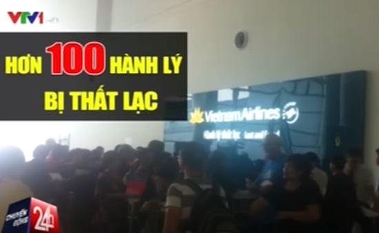 Nhiều hành khách thất lạc hành lý trên chuyến bay từ Pháp về Nội Bài