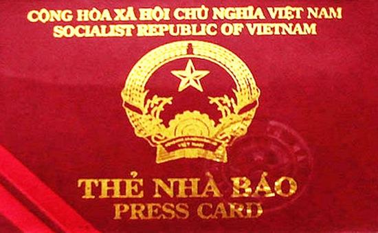 Thu hồi thẻ nhà báo của bà Lê Phương Dung