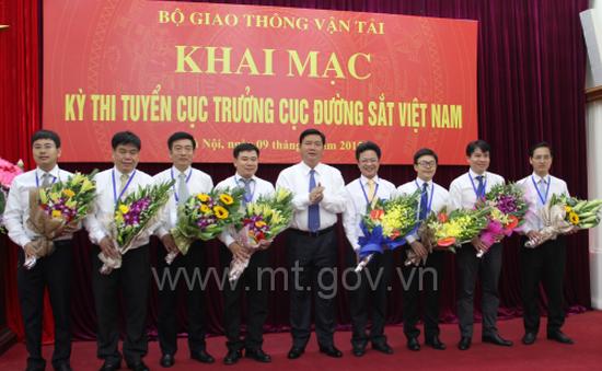 Phó cục trưởng Đường sắt đạt điểm cao nhất trong thi tuyển Cục trưởng