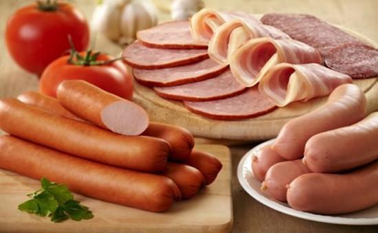 WHO không kêu gọi ngừng tiêu thụ thịt chế biến sẵn