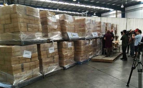 Australia thu giữ 71 tấn thuốc lá nhập lậu