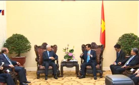 Thủ tướng Nguyễn Tấn Dũng tiếp Bộ trưởng Tư pháp Algeria
