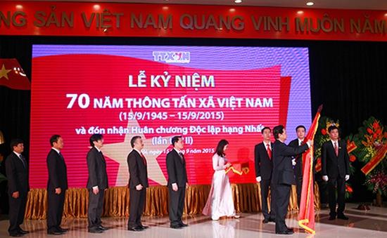 Thông tấn xã Việt Nam kỷ niệm 70 năm ngày thành lập
