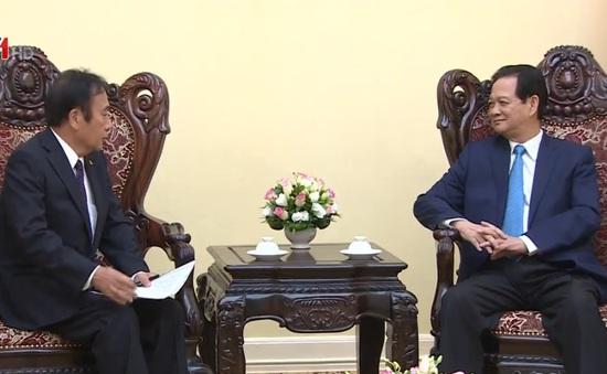 Thủ tướng tiếp Tỉnh trưởng Saitama, Nhật Bản