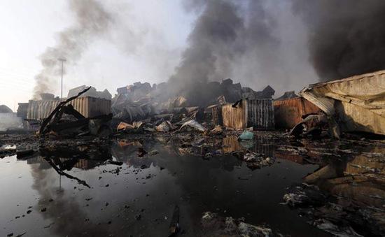 Vụ nổ ở Thiên Tân: Phát hiện chất hóa học có thể gây chết người