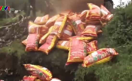 Lâm Đồng: Tiêu hủy hơn 15 tấn phân bón giả
