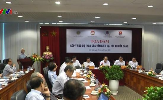 Ủy ban TƯMTTQ Việt Nam tổ chức tọa đàm góp ý văn kiện Đại hội XII