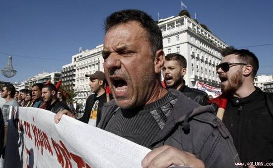 Hy Lạp tổng đình công phản đối chính sách thắt lưng buộc bụng