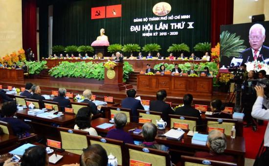 Tổng Bí thư Nguyễn Phú Trọng dự khai mạc Đại hội Đảng bộ TP.HCM