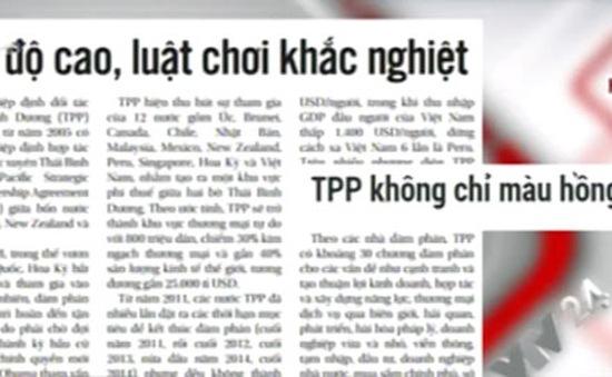 Hiệp định TPP – Điểm nhấn báo chí ngày 6/10