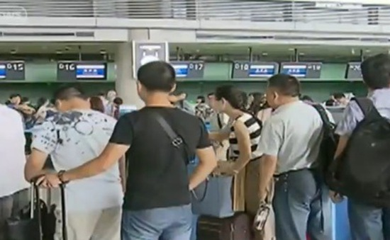 Trung Quốc cấm mở đường bay mới tới 3 sân bay thường xuyên chậm chuyến