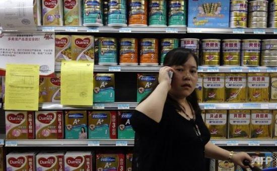 Trung Quốc thu hồi sữa sơ sinh không đạt tiêu chuẩn