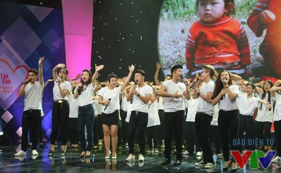 """Dàn ca sĩ nổi tiếng cất cao tiếng hát trong đêm Gala """"Trái tim cho em"""""""