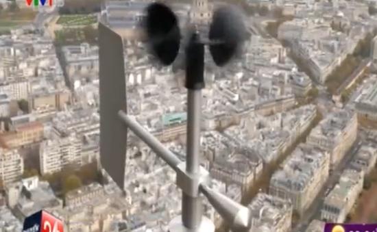 Pháp lập trạm kiểm soát chất lượng không khí trên tháp Eiffel